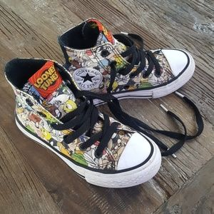 Converse Looney Tunes Hi Top Sneakers Youth 11
